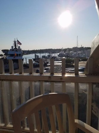 Yarmouth, MA: on the patio