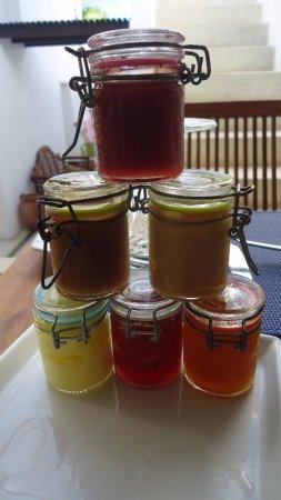 Villa Caracol : Homemade jams