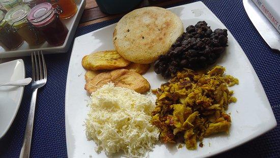 Villa Caracol : Los Roques breakfast