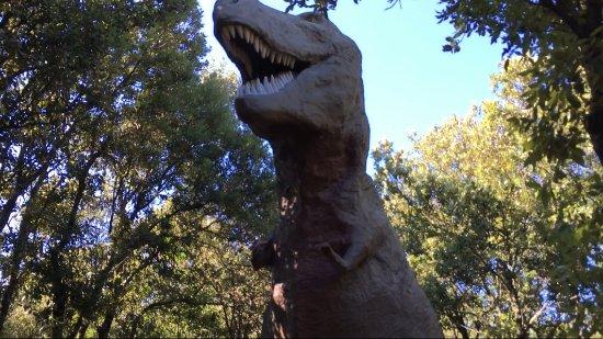 Saint-Remeze, Frankrijk: Le T-Rex, qui devrait être le clou du spectacle. Mais l'émotion n'est pas là.