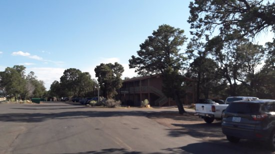 Maswik Lodge: Arrivée sur le site