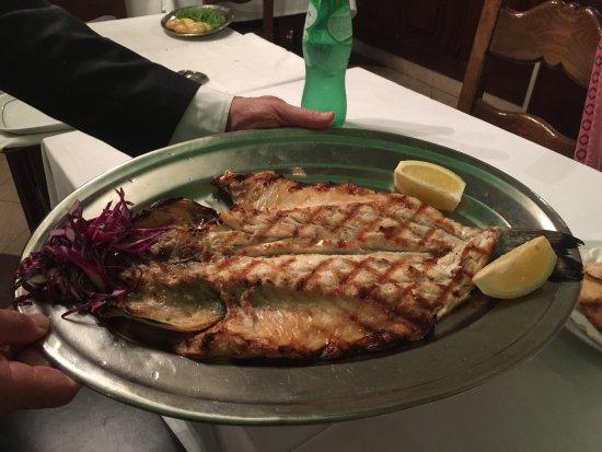 Paco de Arcos, Portugal: Leckere Fischgerichte, ganz frisch