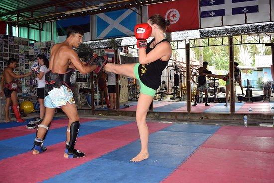 Kobra Muay Thai Boxing Stadium: The gym