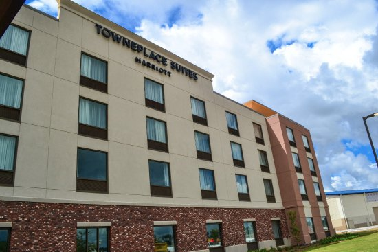 Foley, AL: Kick back and relax at OWA's on-site hotel, the Marriott TownePlace Suites.