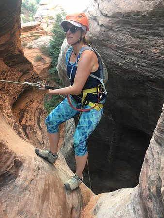 Springdale, UT: Canyoneering Zion all geared up!