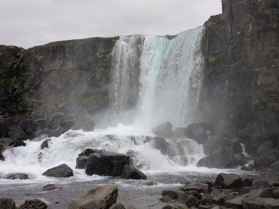 Thingvellir, Island: Oxarafoss
