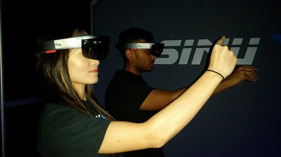 Duluth, GA: We hosted the Atlanta Mixed Reality Meetup- our team members were about to try out the Hololens!