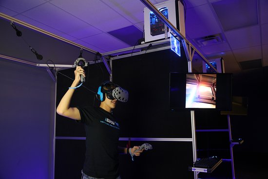 Duluth, GA: VR light sabers are amazing!