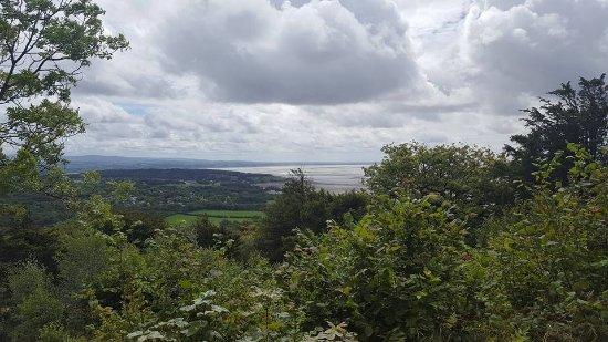 Arnside, UK: Views of the bay