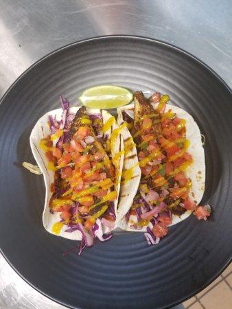 Coquitlam, Canada : Blackened Fish Taco