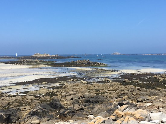 Landeda, France: Balade autour de la presqu'île ste marguerite