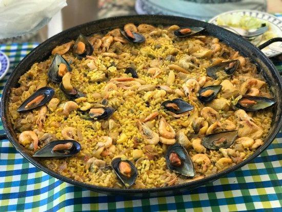 Camas, Spain: Paella mixta exquisita ! Para nosotros sin duda es siempre una buena opción 😍