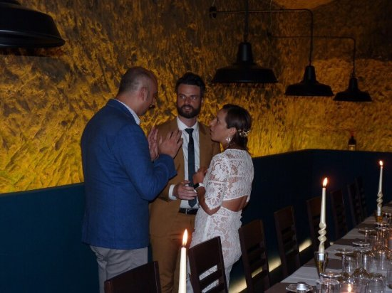 An unforgettable rehearsal dinner! Thank you Particolare si Siena ...