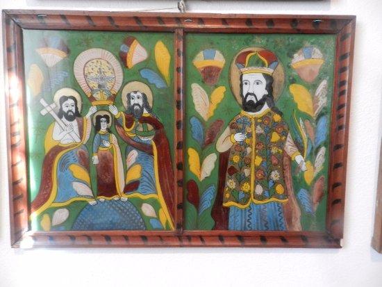 Sibiel, Romania: Icona di Patriarchi