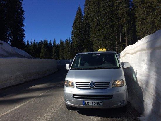 Bled Taxi Transfer: 2,20cm snow! Pokljuka / TriglavNationalPark