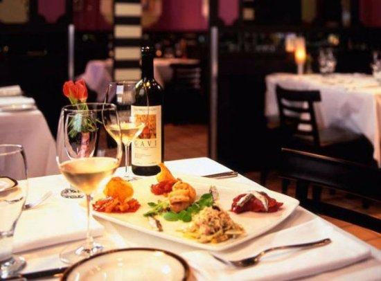 Fine dining at Il Capriccio