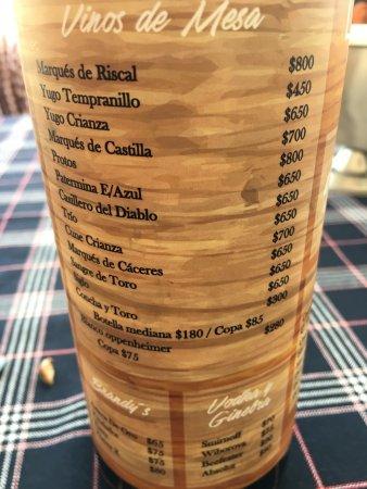 Salamanca, México: Bebidas 2