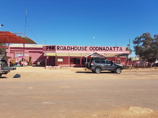Oodnadatta, Australia: The Pink Roadhouse