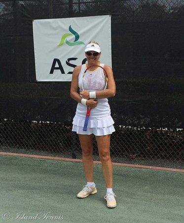 Island Tennis : USPTA Certified Elite Tennis Professional Susan Evans!