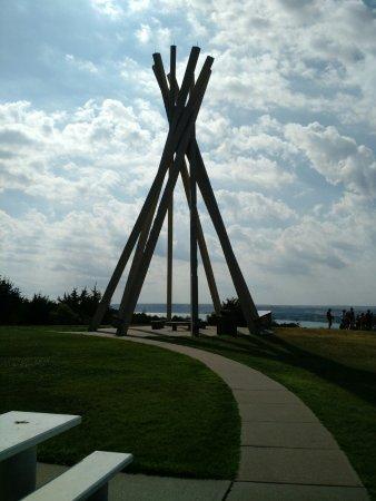 Chamberlain, Dakota do Sul: Picnic area to North of visitor's center