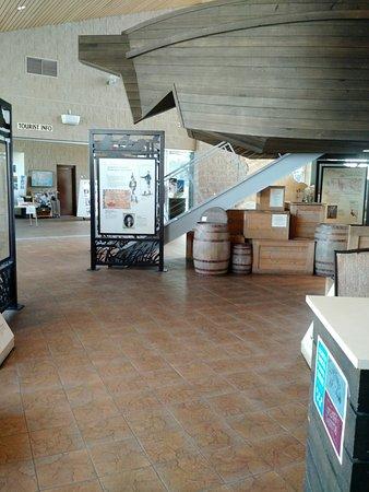 Chamberlain, Dakota do Sul: Exhibit center