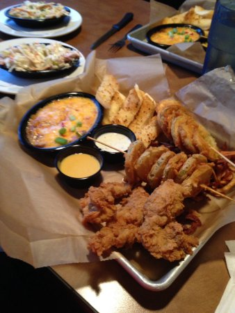 Orangeburg, SC: Fried pickles, chicken , potatoes etc.