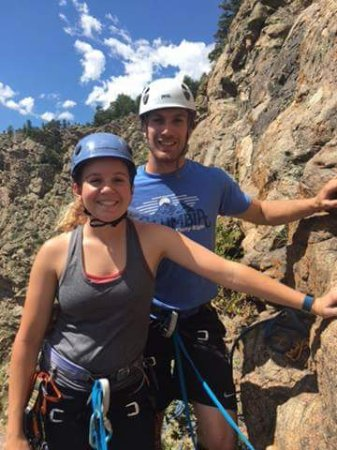 Evergreen, CO: Preparing for rapelling