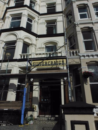 Silvercraigs : Outside under 'renovation'