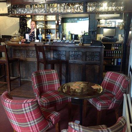 Clifton-upon-Teme, UK: Bar
