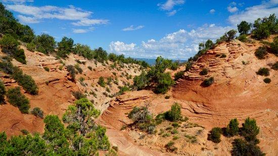 Springdale, Utah: As we enter Huntress canyon.