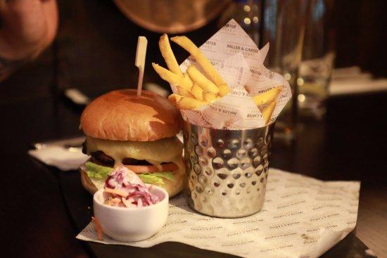 Studley, UK: nice burger
