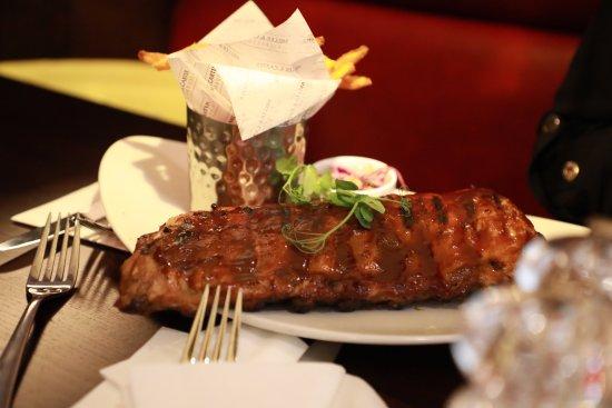 Studley, UK: tasty ribs
