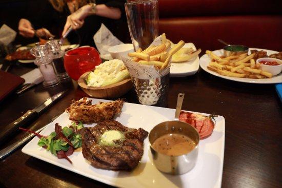 Studley, UK: nice steak