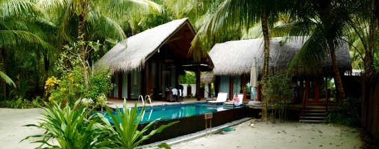 Shangri-La's Villingili Resort and Spa Maldives: Beach villa