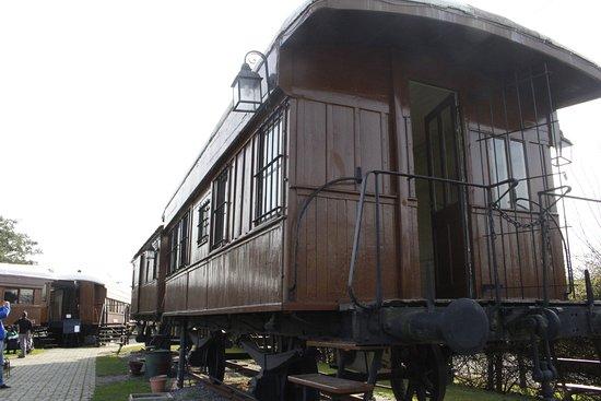 Museo del Ferrocarril: Nesse vagão é possivel entrar e olhar.