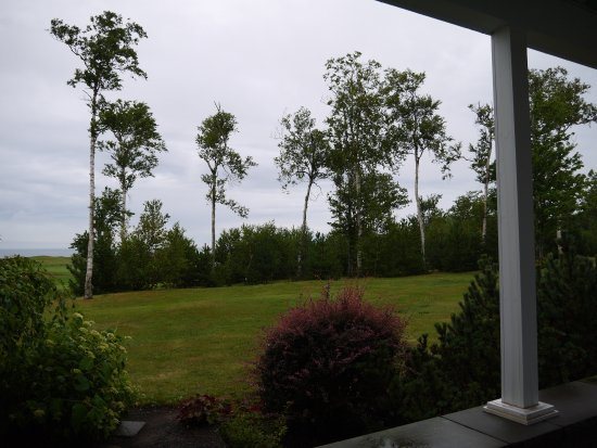 Wallace, Canadá: View from porch