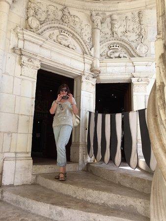 Azay-le-Rideau, France : Say Cheese