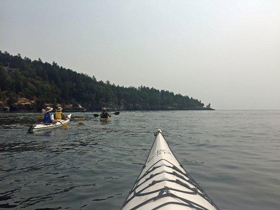 Φράιντεϊ Χάρμποπ, Ουάσιγκτον: Kayaking at San Juan Island
