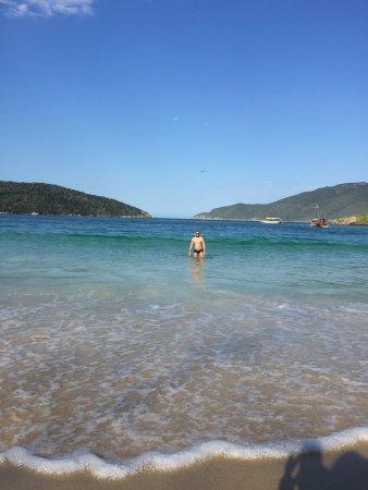 Forno Beach: Praia calma