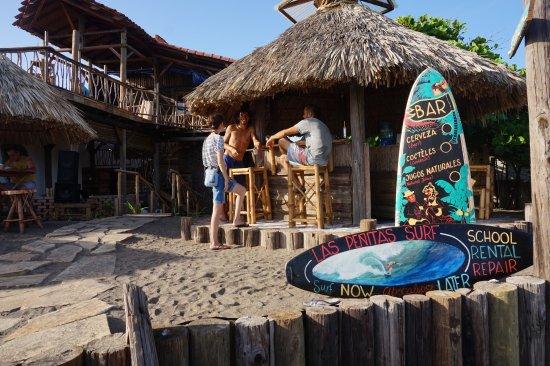 Las Penitas, Nicaragua: Beach/Bar