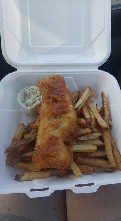 Saint Peters Bay, Canada: Fish & Chips