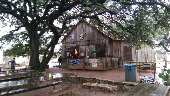 Luckenbach, TX: General Store back