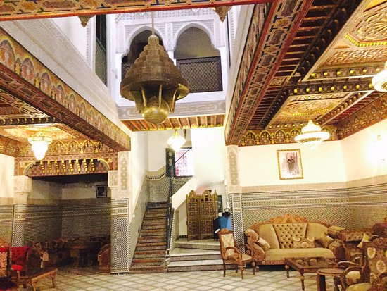 Riad Salam Fes: View in the lobby/public area