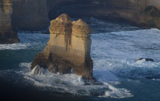 Torquay, Australia: On of the limestone eroded rock formations