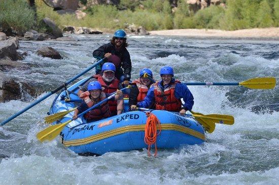 Nathrop, CO: Rafting the Arkansas River
