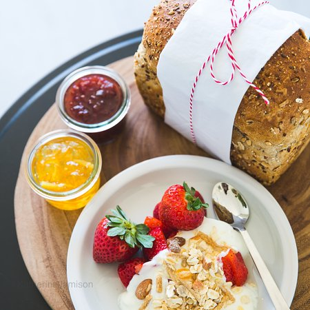 Red Hill, Australien: Continental breakfast