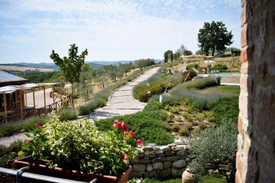 Marsciano, Italien: dalla Loggia si può godere della visuale di tutto ciò che circonda la struttura