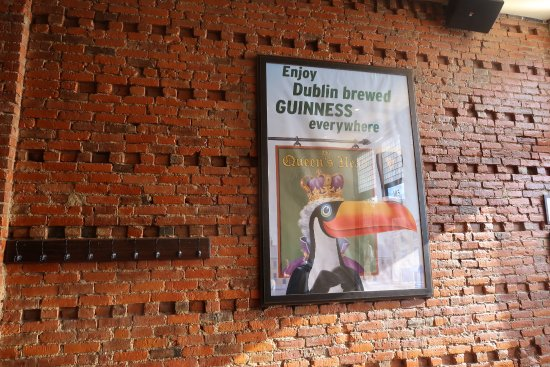 Holly, MI: Guiness posters!