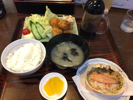 Monbetsu, Japan: Nice grilled crabs