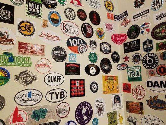 คาร์เมล, อินเดียน่า: brewery stickers